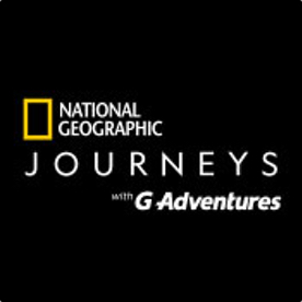 National Geographic Journeys with GAdventure logo