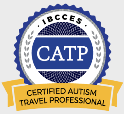 IBCCES Certified Autism Travel Professional Logo