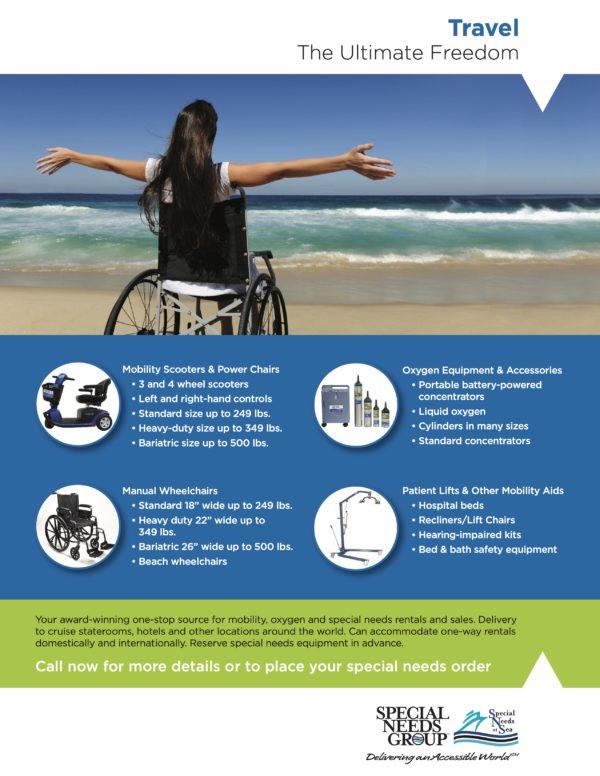 Special Needs Travel Flyer
